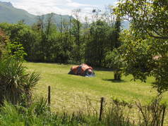 Camping: Aire du temps